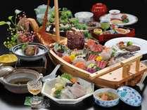 「極~KIWAMI~」和歌山ならではの海の幸・山の幸を使った贅沢な和食会席(造りは2人前)