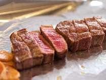 『極~KIWAMI~』の熊野牛ロースステーキ。和歌山県特産のブランド牛をご堪能ください。※イメージ