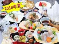 【2018年夏】『クエくえ会席』近畿大学水産研究所が完全養殖した「近大クエ」を使用!