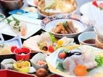 【夕食評価★4.5ツ星の宿】四季を彩る≪地産地消の食材≫が総料理長の匠の技によって生まれ変わります。