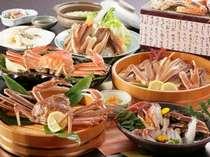 日本海・冬の味覚の王様☆活蟹付蟹づくし(一例)
