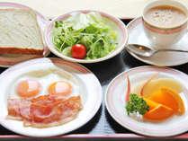 ご朝食 洋食セットのイメージです。