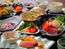 新鮮な海鮮を【お刺身】や【小鍋】!北海道の味を満喫!