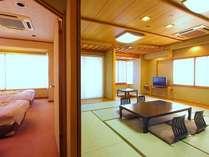 【温泉満喫】広々贅沢な和洋室に泊まるプラン