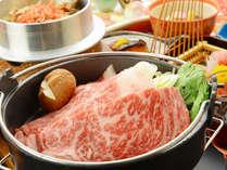 甲州牛贅沢会席(すき焼き)