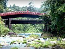 神橋~日光の社寺の玄関ともいえる美しい橋