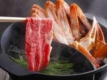 これぞ食の宝庫・香住!! 『私、カニも肉も大好き』 ◆ダブルブランド鍋◆+お好み選べるケーキ付♪