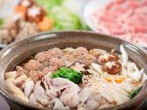 【お部屋食プラン★人気2位】富士の国ポーク:ロース肉を使ったこだわり鍋