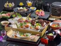 【最上級和会席】伊豆が誇る高級3大味覚の伊勢海老・金目鯛・相模湾魚介をおしみなく贅沢に!