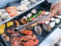 【テラスBBQ】バーベキューグリル・トング類など一式ご用意。後は焼いて食べるだけ!