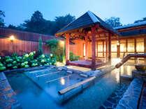 【別施設】:本館露天風呂棟利用時間5:30~10:00、13:00~24:00。送迎いたします。