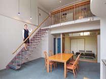 メゾネット和洋室81平米(和・8畳)定員5名:他の客室同様備品はすべて揃っております。