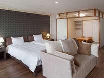 モダン和洋室55平米(和・4.5畳)定員4名(禁煙):リノベーションを経て快適でおしゃれな空間に。