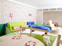 1室限定子供がうれしいキッズ和洋室65平米(和6帖)定員5名(禁煙):プレイングスペースが楽しいね!