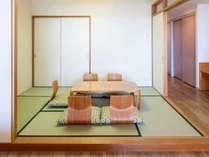 リーズナブル山側和洋室65平米(和・6畳)定員4名:お布団をひいていただけます(画像は別部屋)