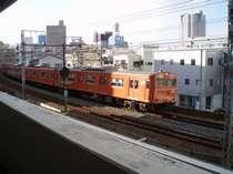 部屋から電車が見える♪ トレインビュープラン♪