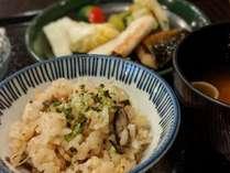 原木シイタケのとり飯