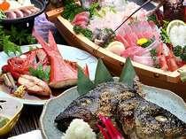 《特別な日》客室露天風呂&お魚三昧!伊勢エビ付舟盛り磯料理とデコレーションケーキの記念日プラン