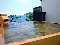 24H無料で懸け流しの展望貸切露天風呂『天海空』  木曽檜『空』