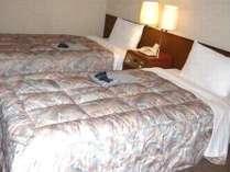 【ツイン】2人旅も♪コンパクトで使いやすいお部屋です。