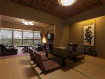 特別室【8畳和室+広々ツインルーム】