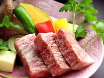 【ご夕食】長崎和牛陶板焼き
