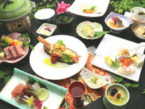 【長崎和牛会席】長崎和牛陶板焼きコース一例