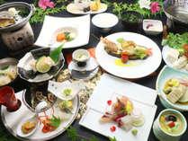 【極味会席】豊穣の海!九州海鮮づくしコース一例