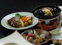 郷土料理鯛カブト煮+鮑(大)陶板焼き♪
