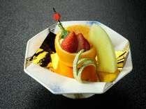 【ご夕食】デザート1例