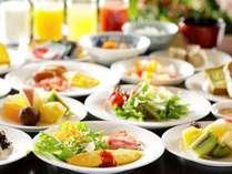 ◆朝食バイキング◆朝からいっぱい食べて元気にスタート!(お料理はイメージです)