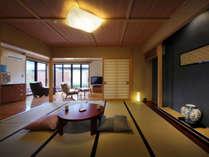 【穂の音】和室10畳+ツインベッドルーム+露天風呂付離れ(禁煙室)