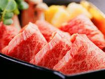 かめやで使用する牛肉は、地元のブランド・但馬牛など信頼の国産和牛だけです。ミニステーキの一例