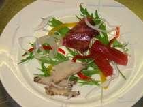 地元の魚介を地ビ-ルで