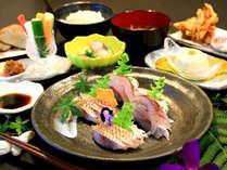 【nicoichi御膳】-お料理一例- ボリューム少な目で女性やお酒を楽しみたい方に人気です。
