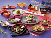 *併設レストラン「日本料理・富岡屋」の質の高いお料理をお召し上がりください♪