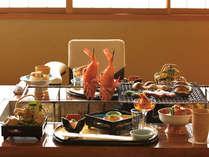 【松柏亭】食材本来の旨味をご堪能下さい。囲炉裏焼会席(イメージ)