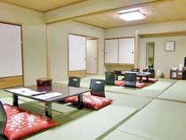 【大部屋20畳】(5名様~10名様まで対応)冬場は雪かこいがある為、景色を見る事ができないお部屋です。