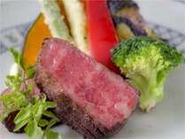 福島牛のグリルパン焼き