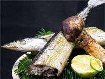 プラス1品秋刀魚と松茸イメージ