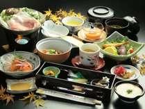 【スタンダード】<山金豚の鍋>&恵那、岐阜の食材で料理長が腕を振るう♪四季会席の1泊2食付