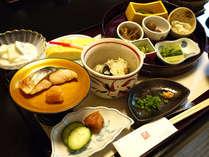 *朝食一例。様々な味をお楽しみください。