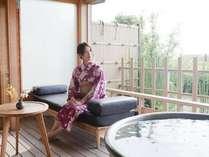 マイ露天で芦原温泉ひとりじめ。限られたお客様だけのワンランク上のくつろぎ、上質な時間をあなたに。