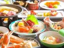 <2015年>お部屋食一例/季節によって変わるお造りなど、旬の味覚をお楽しみください