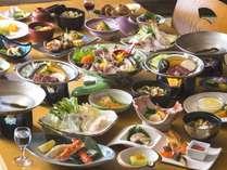 夫婦膳◆男女で異なるお膳をお召し上がりいただけます。多彩なお料理の数々をご堪能ください。