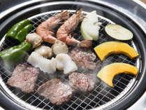 魚介&お肉の両方楽しむ!みんなでジュージュー盛り上がろう!【バーベキュープラン・魚介】