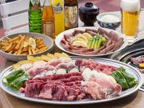 とにかく肉!ボリューム満点のお肉で満足度120%!【バーベキュープラン・お肉】