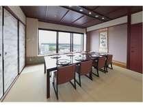 17F日本料理「桃山」個室テーブル椅子席