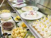 ホテル1Fレストラン「嵯峨野」デザート類(※内容は仕入れ等により異なります。)