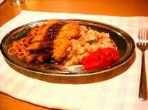 当ホテルでじわじわと人気が出てきています★洋食屋さん『パブK』のトルコライス♪